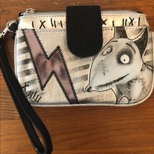 DisneyStore Frankenweenie wallet / wristlet